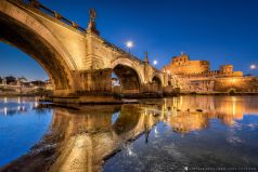 Angels Bridge , Rom , Italien / Italy